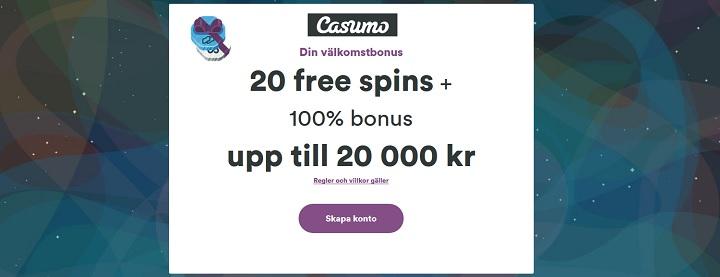 Spela snabbt och säkert hos Casumo med BankID