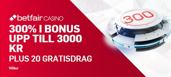 Topp 3 svenska casino 2018