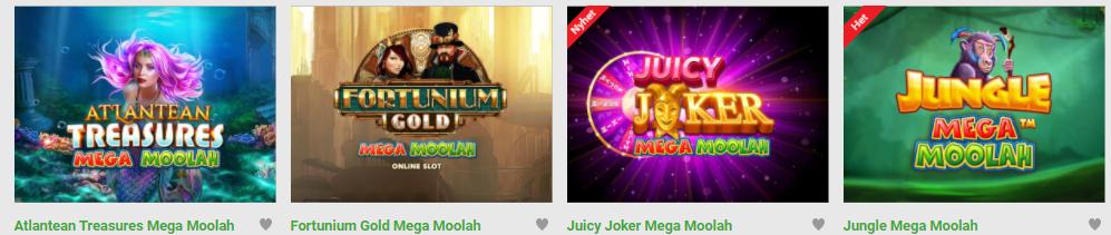 Mega Moolah med en jackpott på över 120 miljoner kr